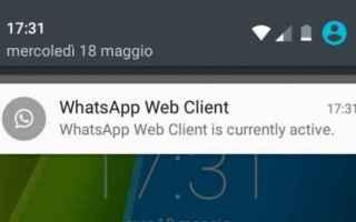 Browser: whatsapp  notifiche  feature