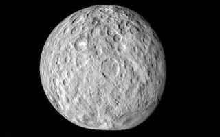 Astronomia: cerere  impatto  pianeta nano  dawn