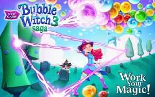 Mobile games: bubble witch saga 3 mobile games