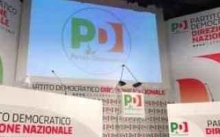 Politica: diretta  assemblea  pd  renzi  congresso