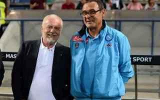 Serie A: de laurentiis  sarri  napoli