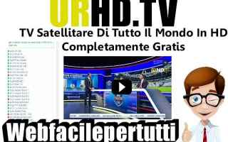 Televisione: urhd.tv tv streaming gratis sky