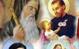 Religione: santi  chiesa  calendario