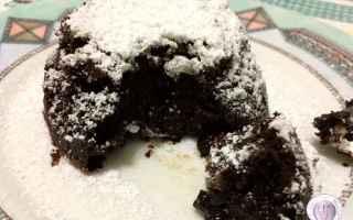 Ricette: tortino  cioccolato  fondente