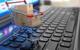 Web Marketing: e-commerce  carrello e-commerce