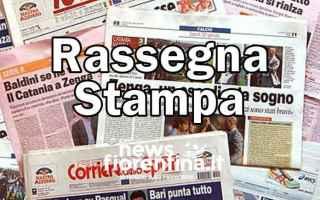 Firenze: prime pagine  rassegna stampa