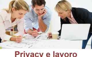 Leggi e Diritti: privacy datore posta dati smartphone