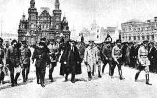 Storia: rivoluzione russa  unione sovietica