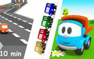 Video divertenti: cartoni animati  bambini  gare di corsa
