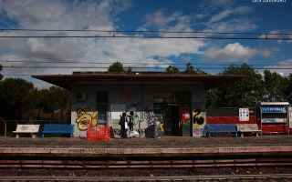 A #TorDiValle al posto dello #StadioDellaRoma c'è una<br />discarica, ma volete mettere la stazi