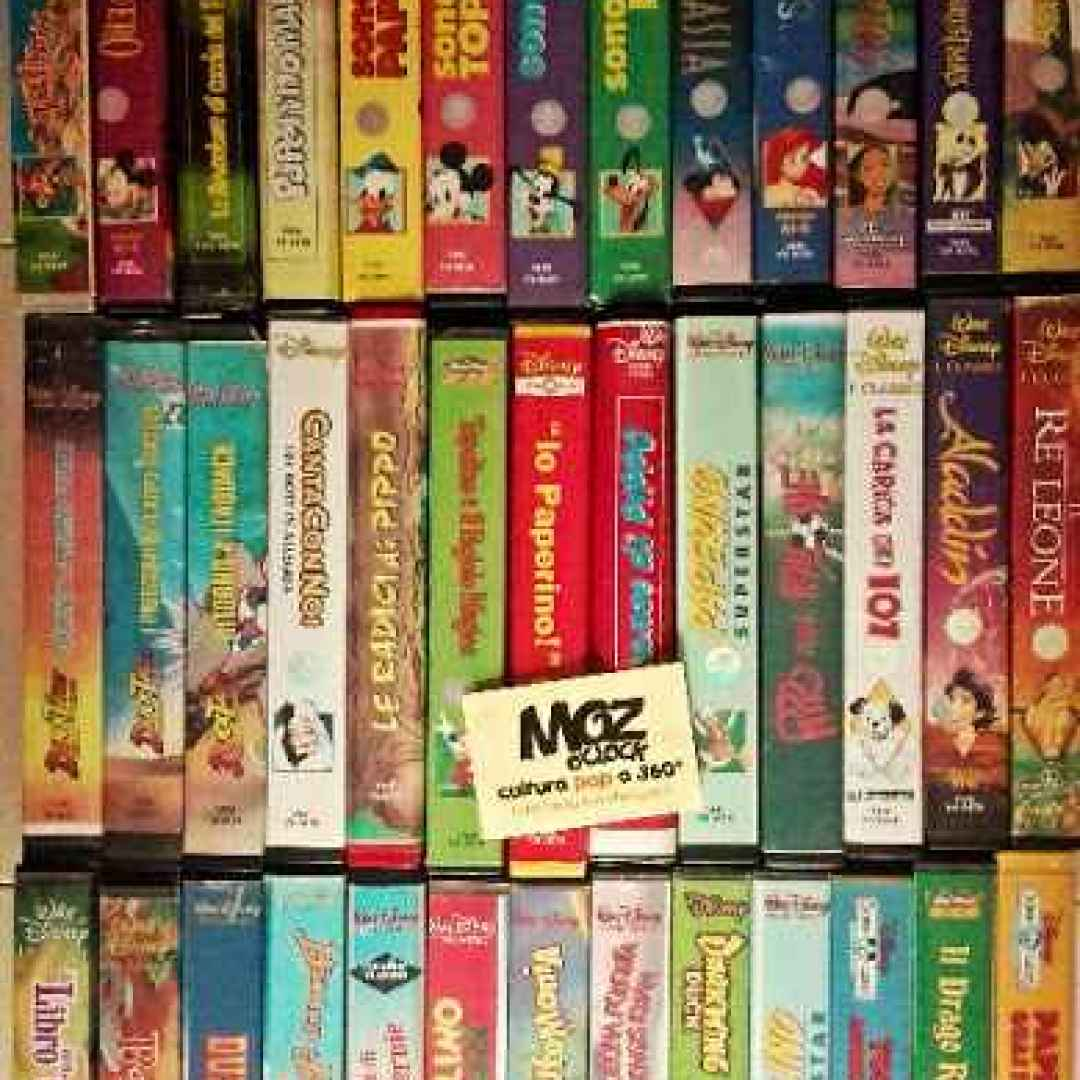 Anime walt disney home video le videocassette