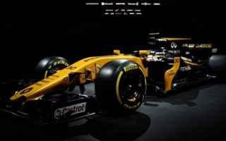 Formula 1: f1  renault  presentazione rs17