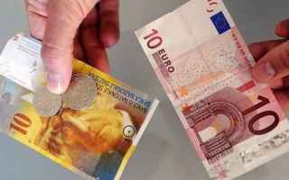 Borsa e Finanza: cambio euro franco svizzero