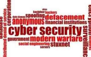 Sicurezza: cyberattacchi computer clusit hacker