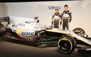 Formula 1: f1  force india  vjm10  presentazione