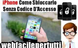 iPhone - iPad: iphone trucco sblocco