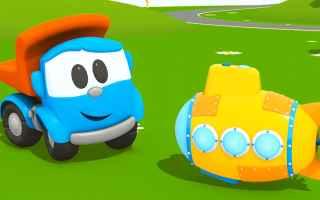 Video divertenti: cartoni animati  leo il camion