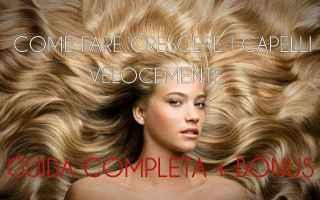 Bellezza: capelli  come fare  velocemente  trucchi