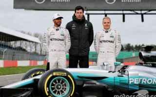 Formula 1: f1  mercedes  presentazione  w08
