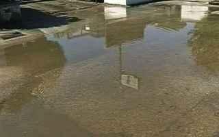 moto  caduta  acqua  responsabilità