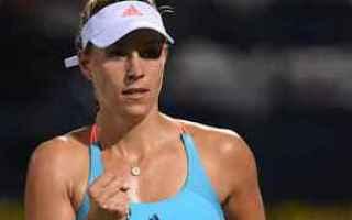 tennis grand slam kerber dubai