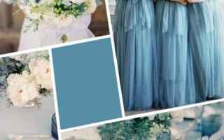 Moda: matrimonio  colori 2017  blu niagara