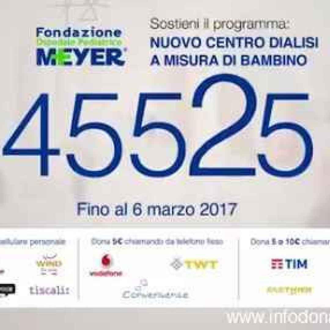 Campagna meyer a sostegno dei bambini in dialisi meyer - Donazione indiretta immobile ...
