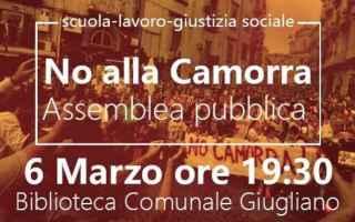 Napoli: giugliano in campania  camorra  incontro