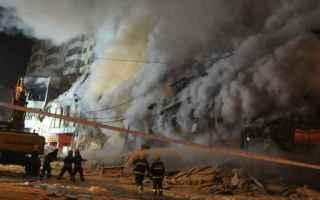 cina  hotel  vittime  incendio  morti