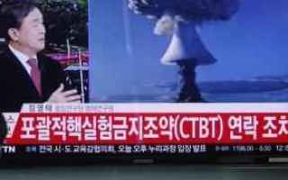 dal Mondo: corea del nord  test nucleari