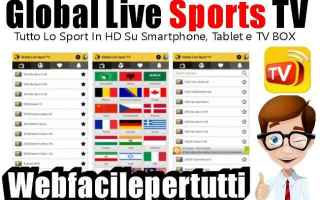 File Sharing: global live sports tv  app  streaming