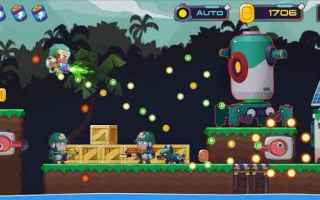 Mobile games: android sparatutto videogame arcade