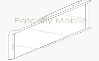 Cellulari: samsung  display  estraibile  render
