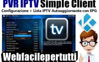 Software Video: kodi iptv configurazione