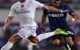 Calciomercato: inter  real madrid