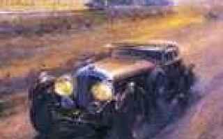 Arte: alan fearnley  dipinti di auto da corsa