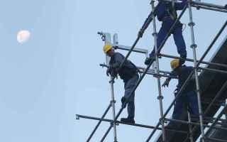 Lavoro: morti lavoro  sicurezza  infortuni