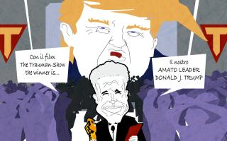 Satira: oscar  satira  sparatrap  vignetta