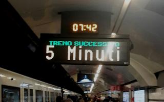 roma  metro a  trasporto pubblico