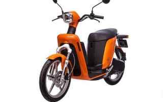 scooter elettrico  askoll  città