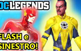dc legends  supereroi  android  azione