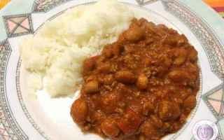 Ricette: riso  fagioli  messicano