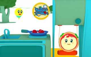 Sapete come si cucinano le lasagne? sono un piatto buonissimo! Margherita è un cartone animato educ