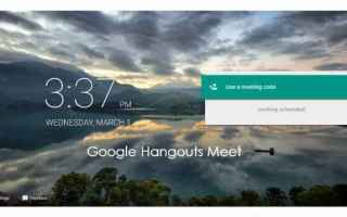 Video online: google  hangouts meet  conferececall