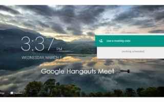 google  hangouts meet  conferececall