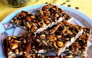 Ricette: snack  spuntini  mandorle