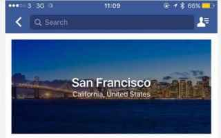 App: facebook  city guides  apps