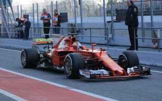 Formula 1: f1  ferrari  test  barcellona