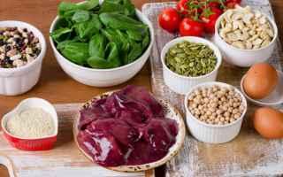 Medicina: ferro  alimentazione  anemia