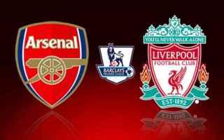 Calcio Estero: liverpool  arsenal